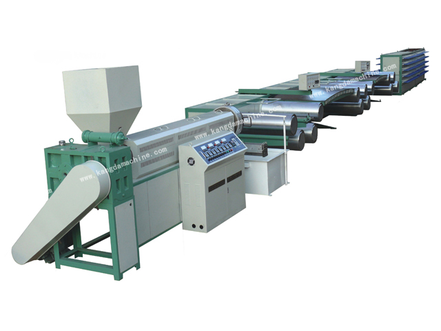 Pp Woven Bag Making Machine Plastic Tape Extrusion Line Pingyang